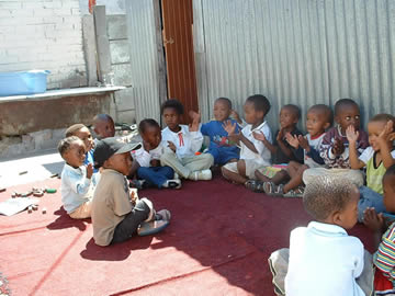 ETAFENI BACKYARD PLAYGROUP AT MASIZAME